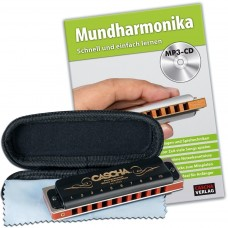 Cascha HH 1610 EN Professional Blues Harmonica