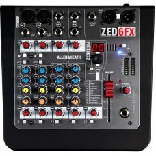 Allen & Heath ZED-6FX