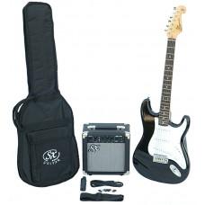 SX SE1 Elektromos gitár szett
